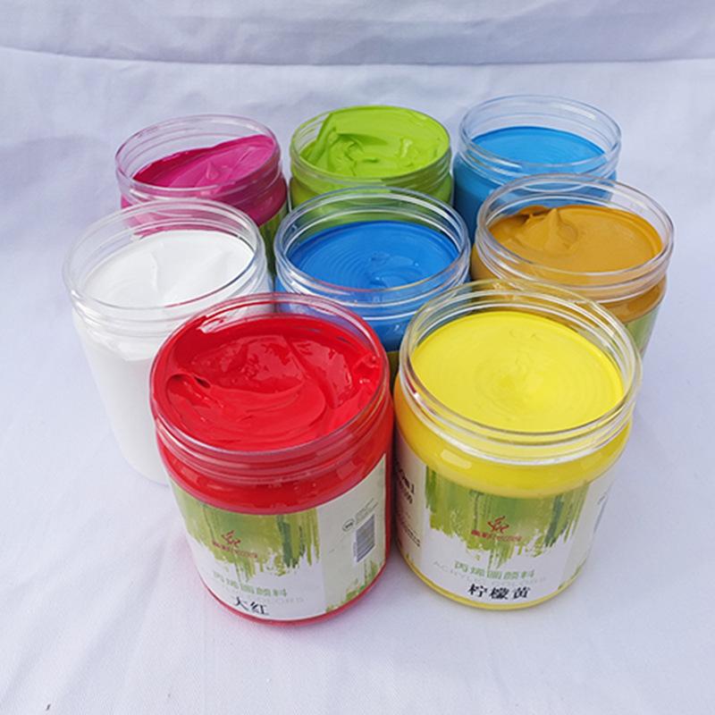 油画丙烯颜料 户外墙体绘画颜料 多种颜色 丙烯画颜料 不易褪色图片