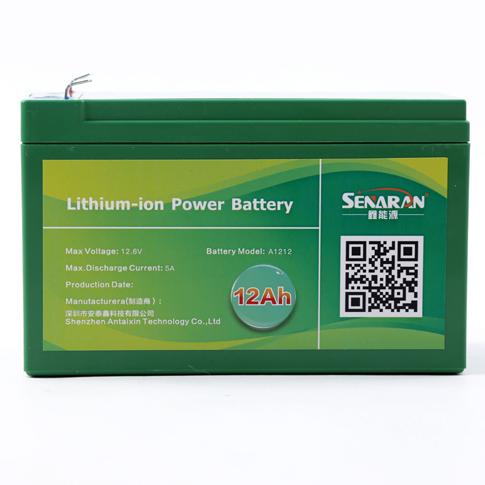 厂家供应12V12A喷雾器锂电池,12V12A锂电池,12V喷雾器锂电瓶,农用锂电池