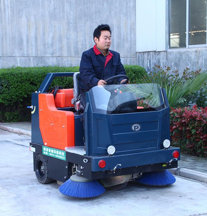山西普森扫地机景区专用扫地车道路清扫车PS-J1450B