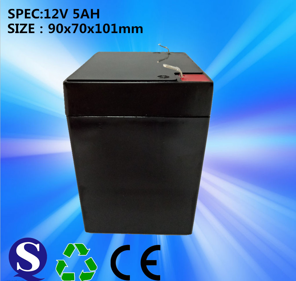 飞狼蓄电池 铅酸电池 12V5AH电动卷帘门蓄电池 卷闸门电瓶 NP12-5.0 免维护铅酸电池