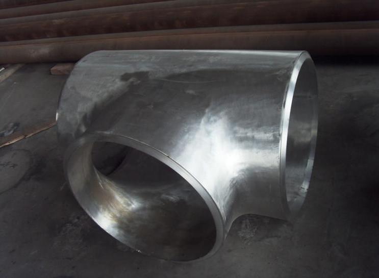 太仓市供应DN350碳钢冷拔三通|合金大口径对焊三通|碳钢Y型三通