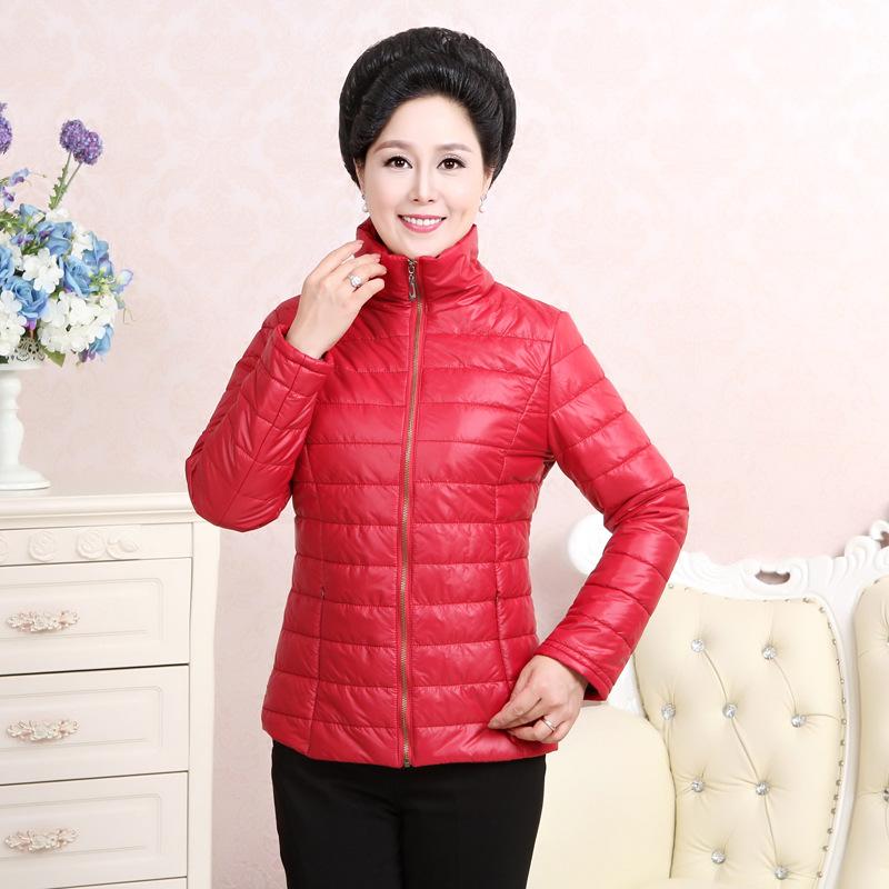 中老年女装新款冬装棉衣妈妈装棉服老年人女50-60岁棉袄外套图片