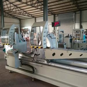 铝型材数显双头精密切割锯 断桥铝门窗生产加工设备厂家报价