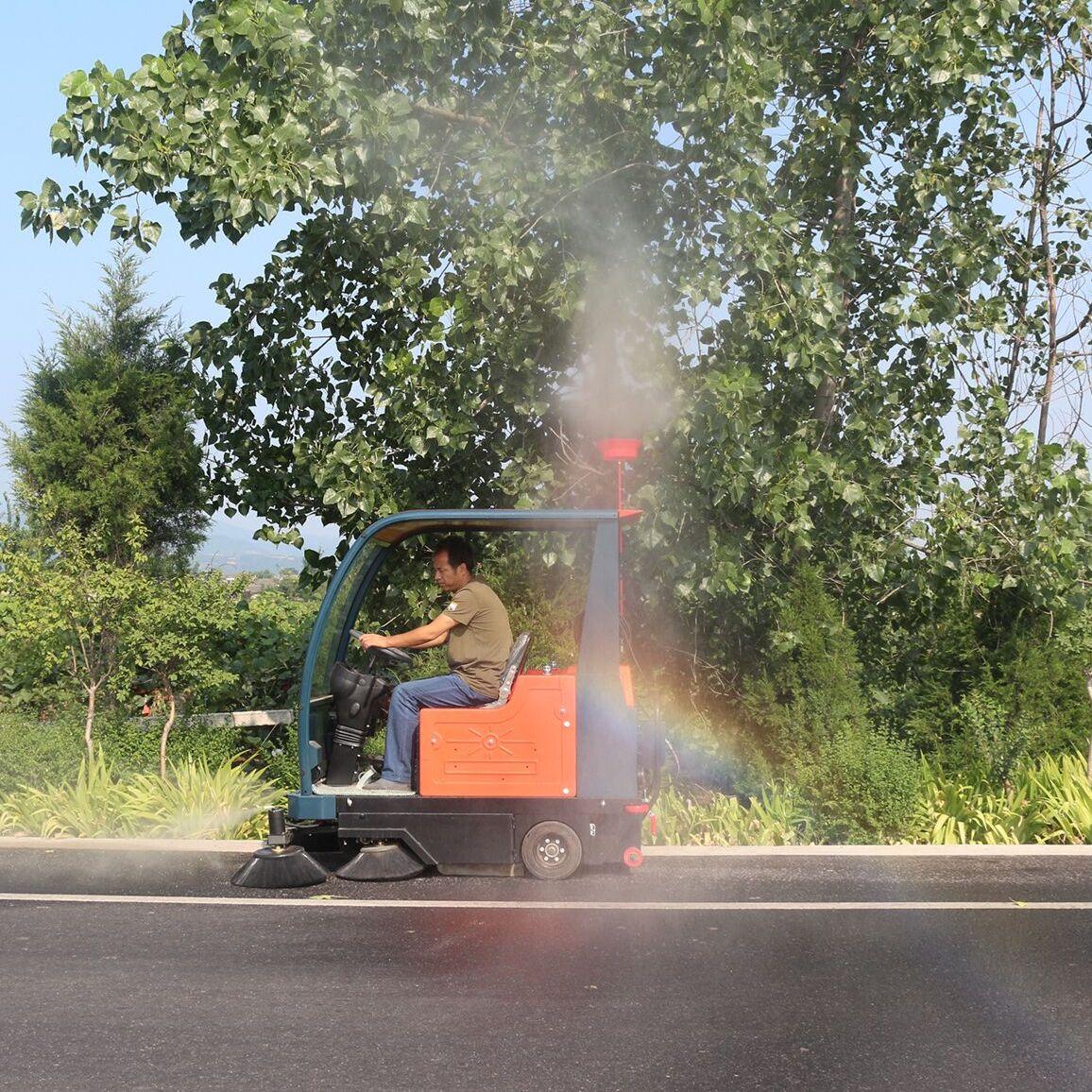 四川普森电动扫地车景区清扫车道路小区校园广场驾驶式清扫车PS-J1860AB
