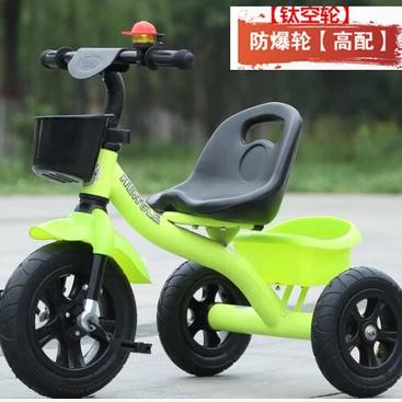 新品儿童三轮车自行车脚踏车脚蹬单推车小孩玩具