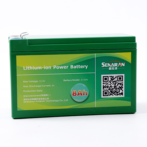 厂家供应12V8A喷雾器锂电池,12V8A锂电池,12V喷雾器锂电瓶,农用锂电池
