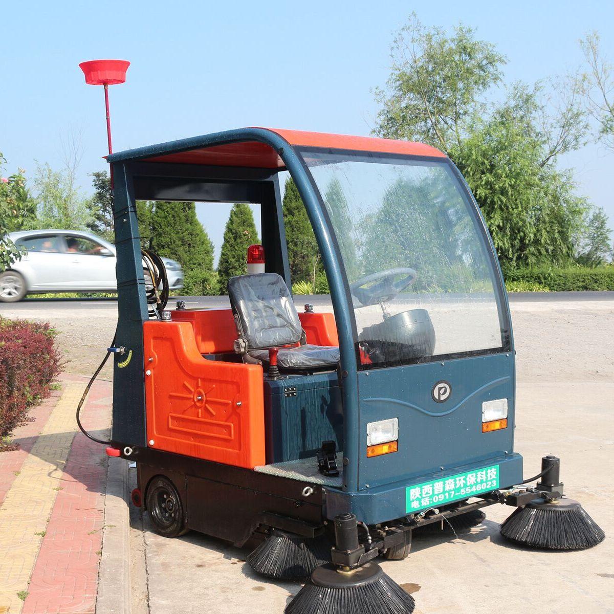 内蒙普森电动扫地车景区清扫车电动驾驶式环卫车PS-J1860AB