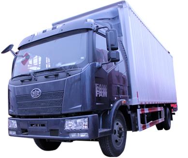 一汽解放 J6L 6.8米 厢式货车