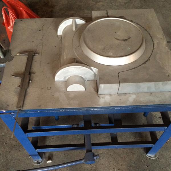 厂家专业生产优质新型翻砂用铝模具  顶箱机  漏模机专业铸造