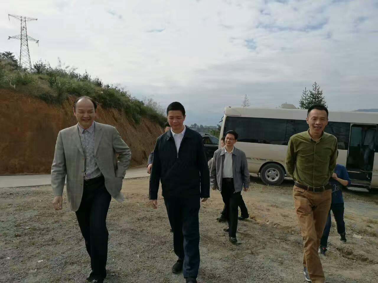 福州市委常委、市纪委书记修兴高等领导调研丰盛农林