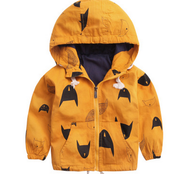 新款男童加绒风衣外套 冲锋衣上衣2016冬装秋冬款童装儿童宝宝潮