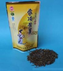 批发四川特产蒙顶山茶上品正宗袋装黄茶、50克蜀蒙特级蒙顶黄芽