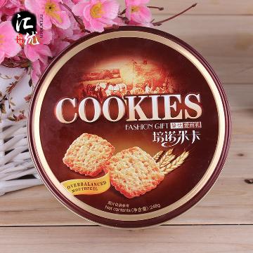 进口食品零食饼干批发培诺米卡原装正品248g