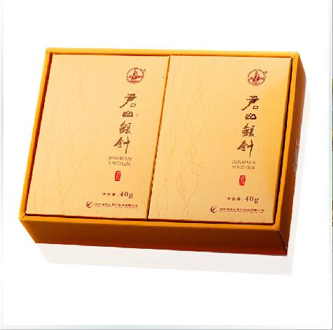 供应 君山银针 2015新茶 茶叶 旗舰店正品黄茶 礼盒装80g 湖南特产
