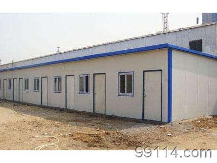 天津津南彩钢板房厂,彩钢夹芯板销售价格,彩板房安装施工