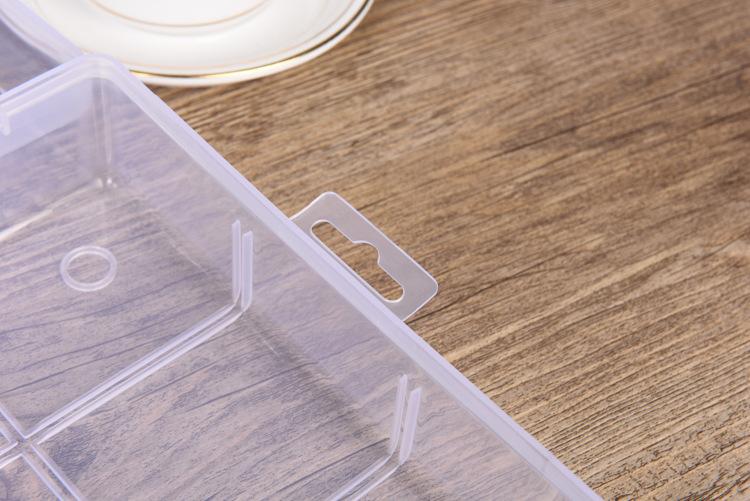 加厚玩具饰品透明塑料盒首饰雷神空盒v玩具乐高大号整理盒药盒积木之斧图片