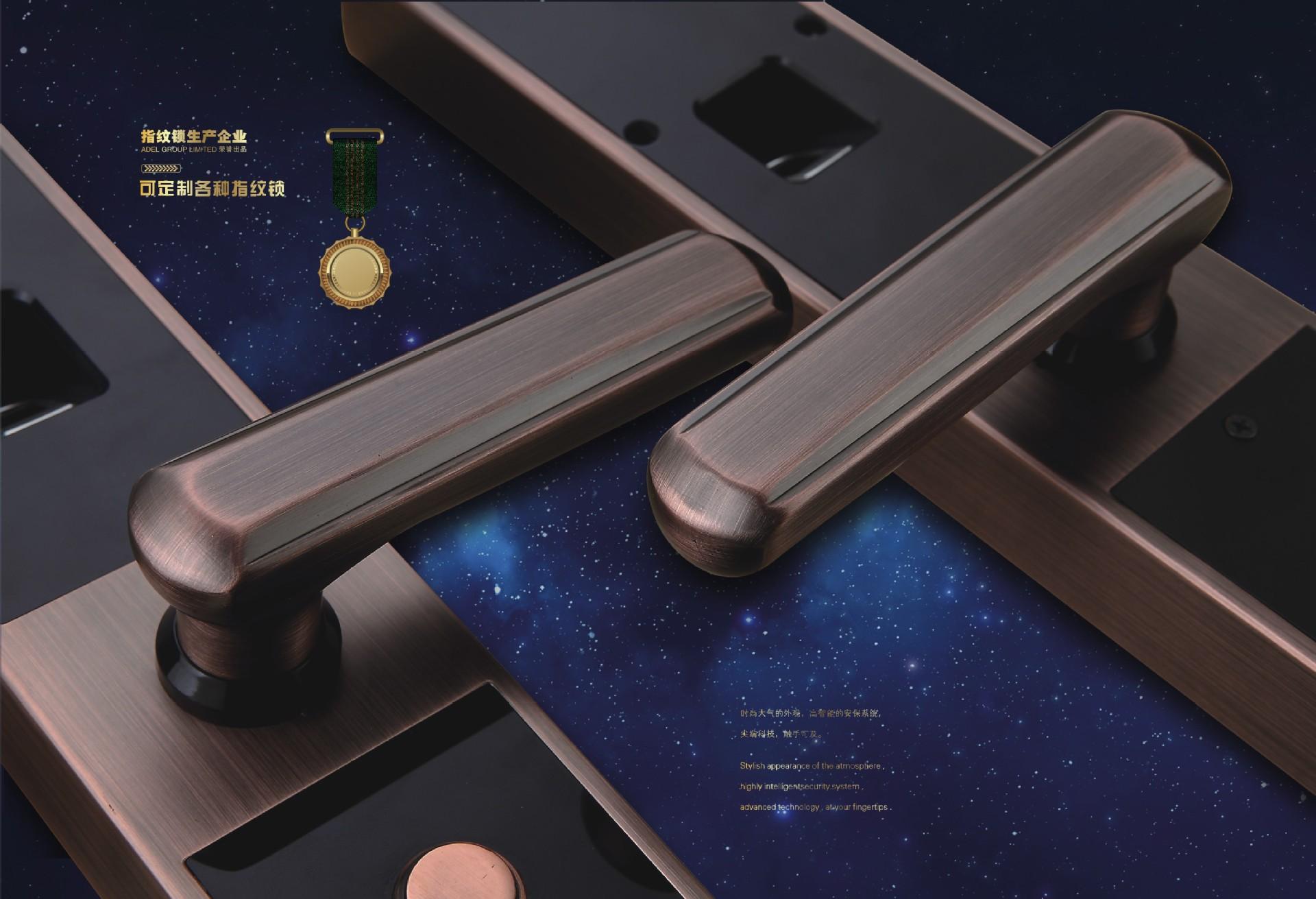 鑫驰 指纹 密码 遥控智能锁2