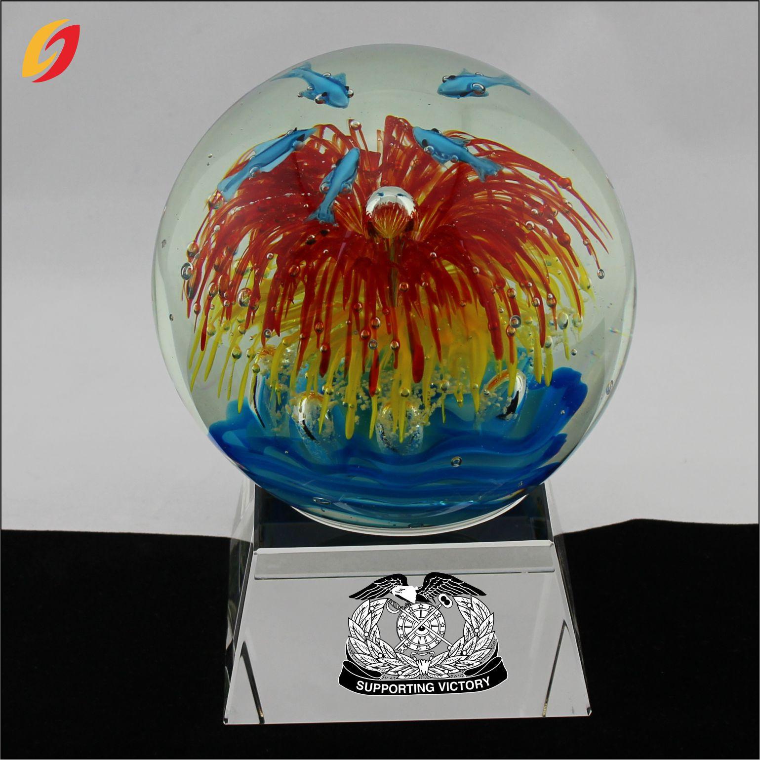 琉璃水晶球 风水琉璃球 玻璃球 风水摆件 琉璃工艺品 装饰品球