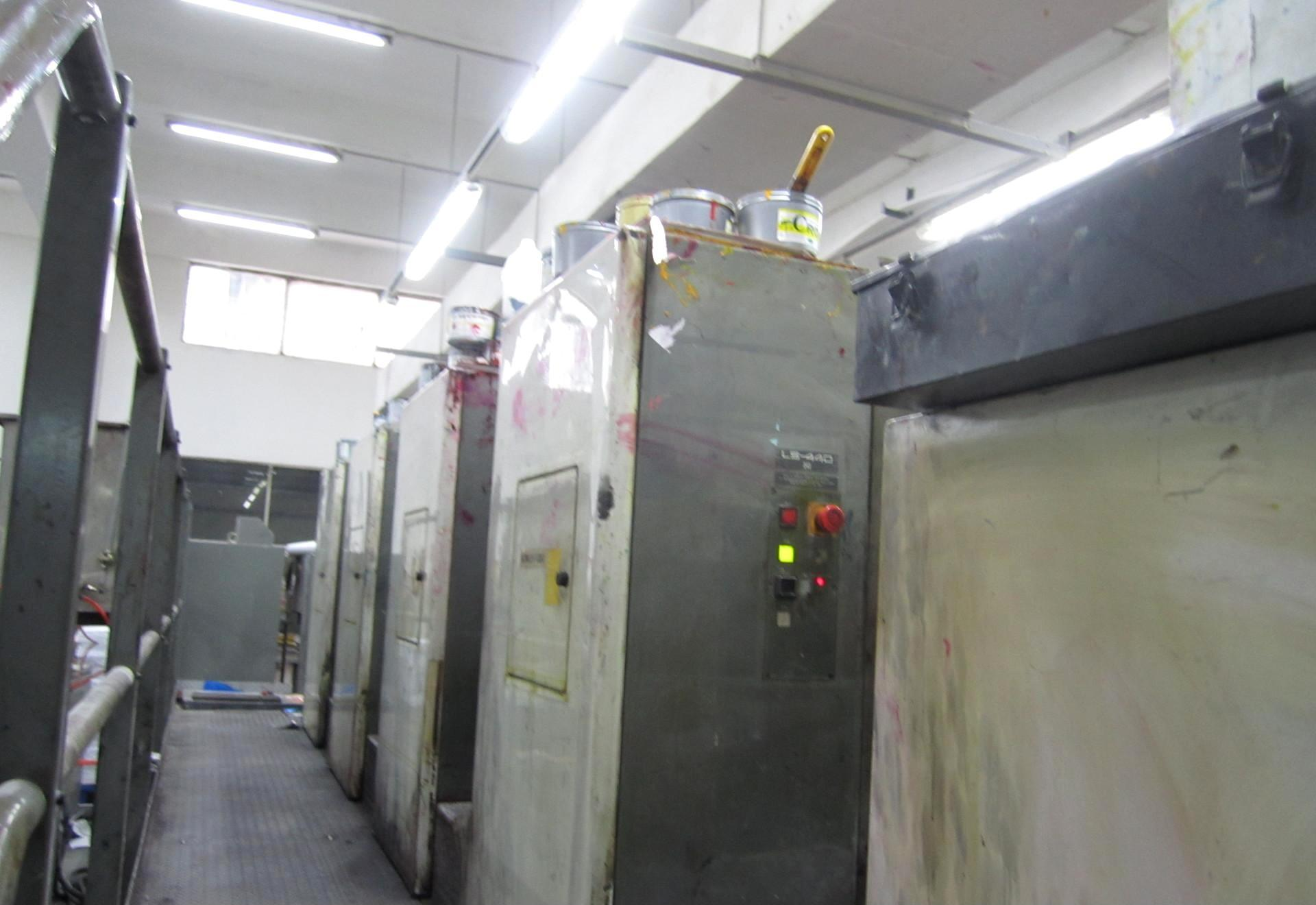 2005年小森LS-440对开四色胶印机