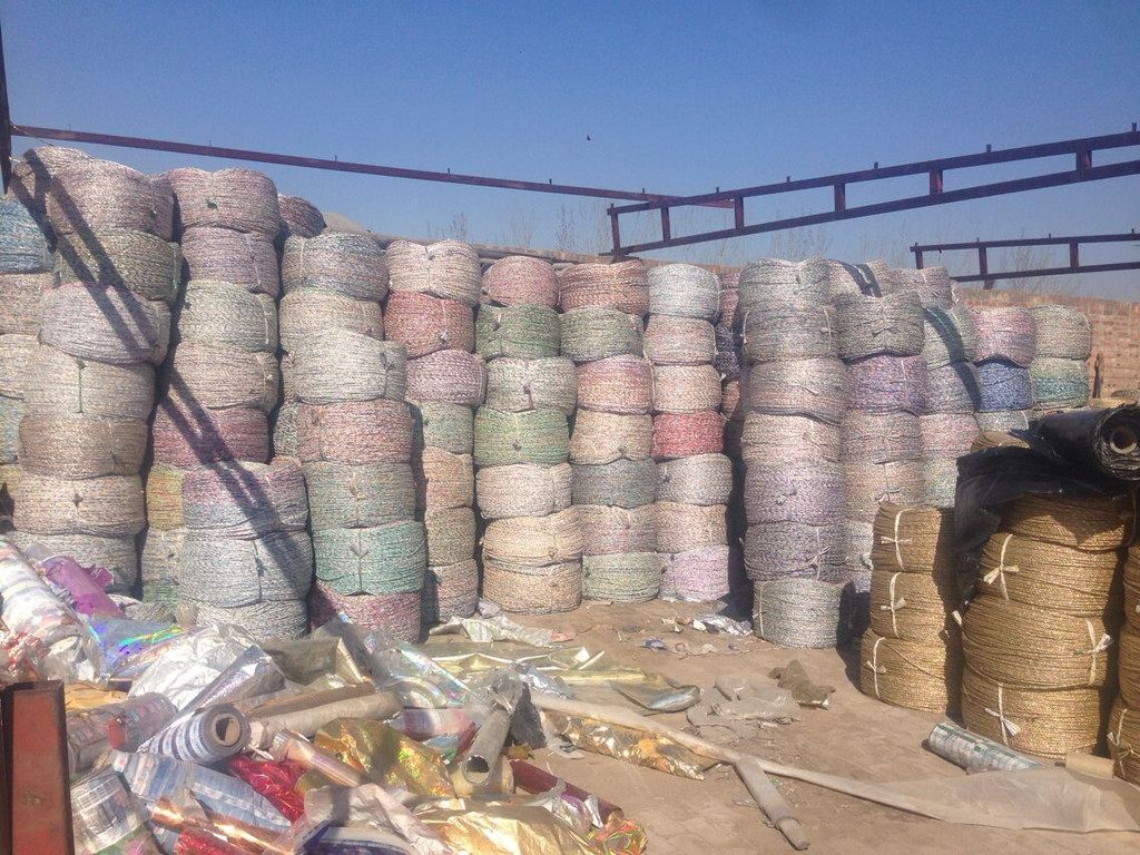 佛山市专业生产废纸打包绳黄金绳大棚压膜绳吊线绳价格优惠