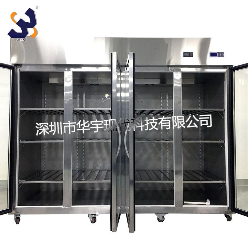 华宇现代HYXD-2500KWS 2500L超大容量不锈钢玻璃门高精度恒温恒湿存储柜