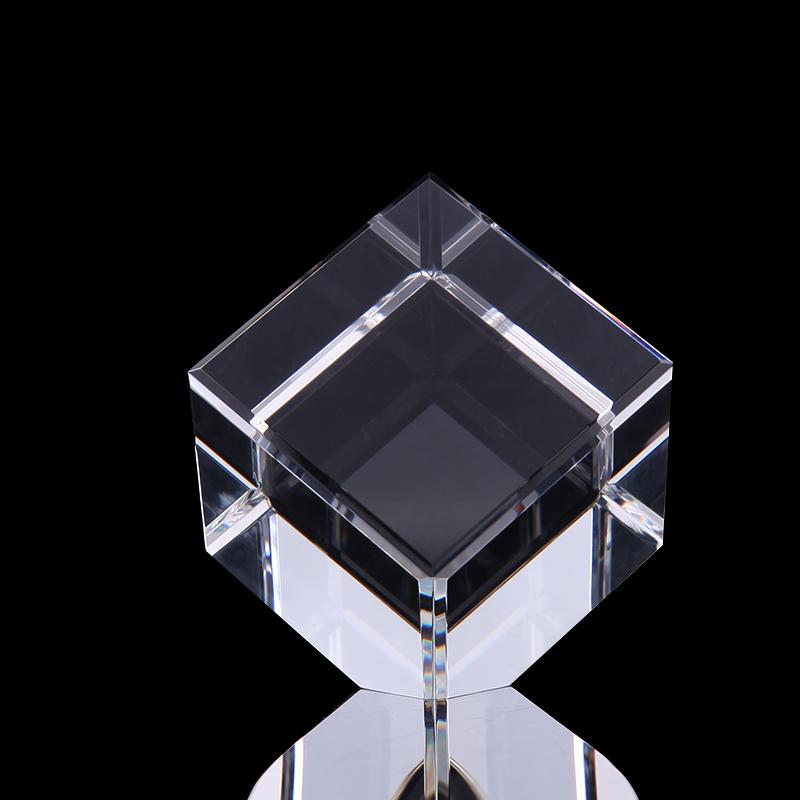 浦江厂家供应  厂家定制 供应方体水晶透明  定制款