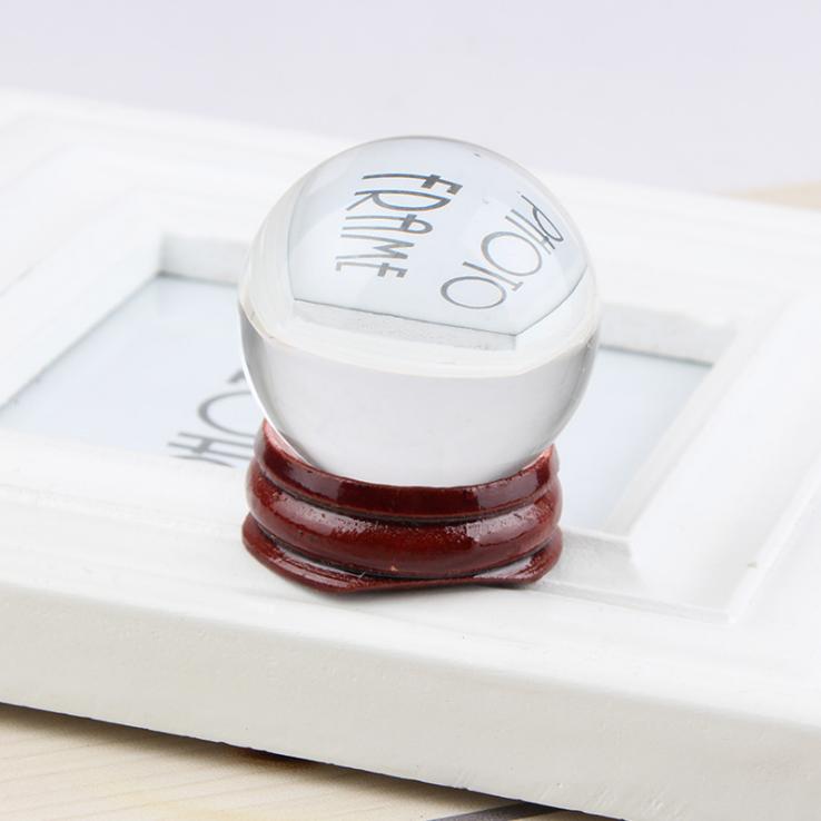 供应 k9水晶球工艺品 水晶球摆件 办公礼品批发