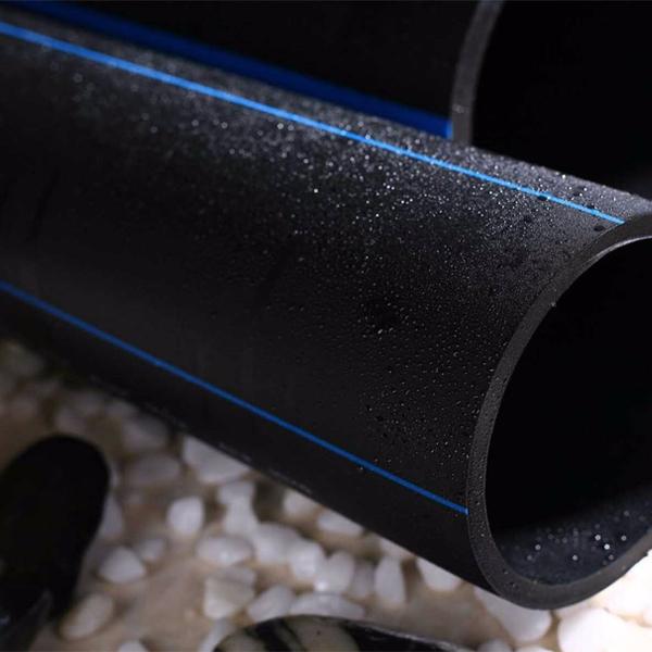 供应HDPE水管SDR26 0.6Mpa(外径800mm 壁厚30.6mm)