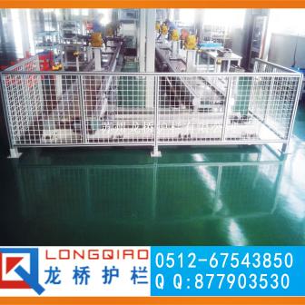 杭州高质量设备安全护栏网 杭州设备安全防护网 龙桥护栏专业定制