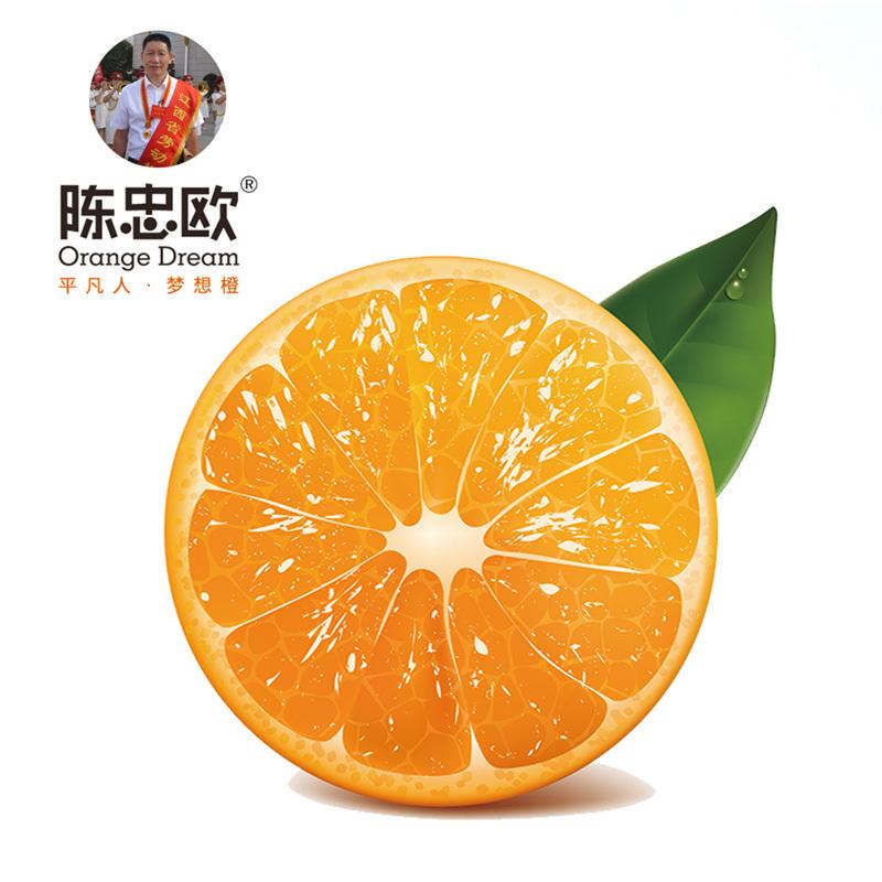 【陈忠欧】正宗赣南脐橙新鲜橙子现摘10斤精品果包邮