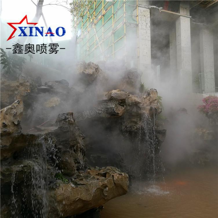 冷雾系统-高压水雾设备及园林造景雾效景观工程
