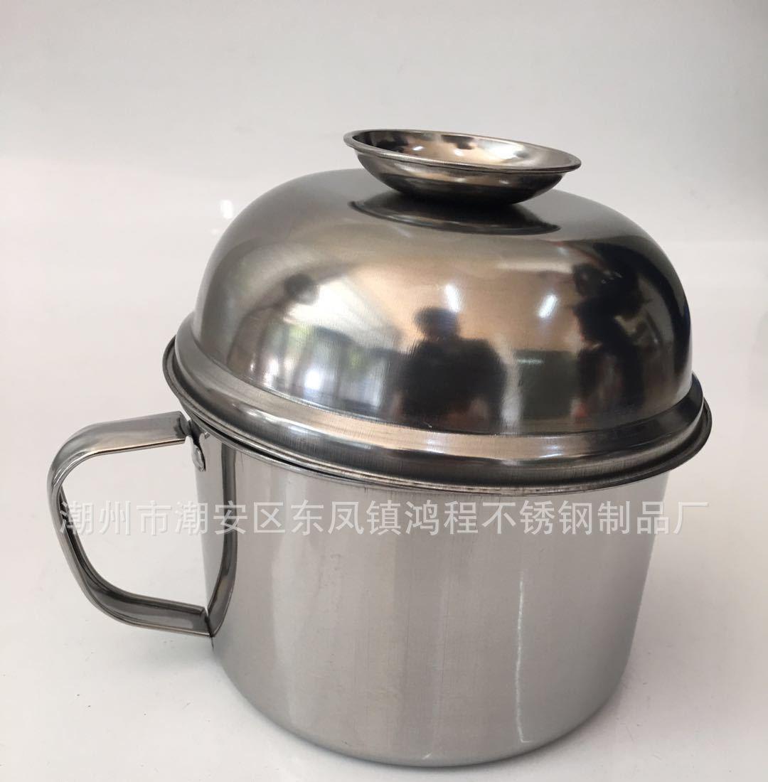 供应 不锈钢餐具不锈钢快餐杯 学生快餐盒 带磁餐杯三层 不锈钢杯批发
