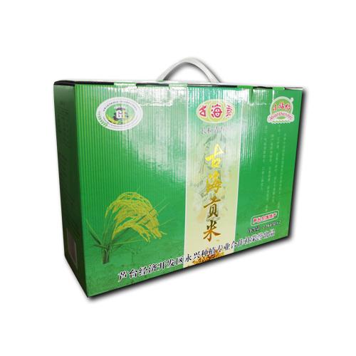 天津宁河特产新米古海贡牌大米10斤装真空包装 小站稻 (绿色食品商标)