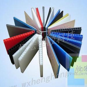 无锡地区专业生产 外贸pp瓦楞板 塑料中空板