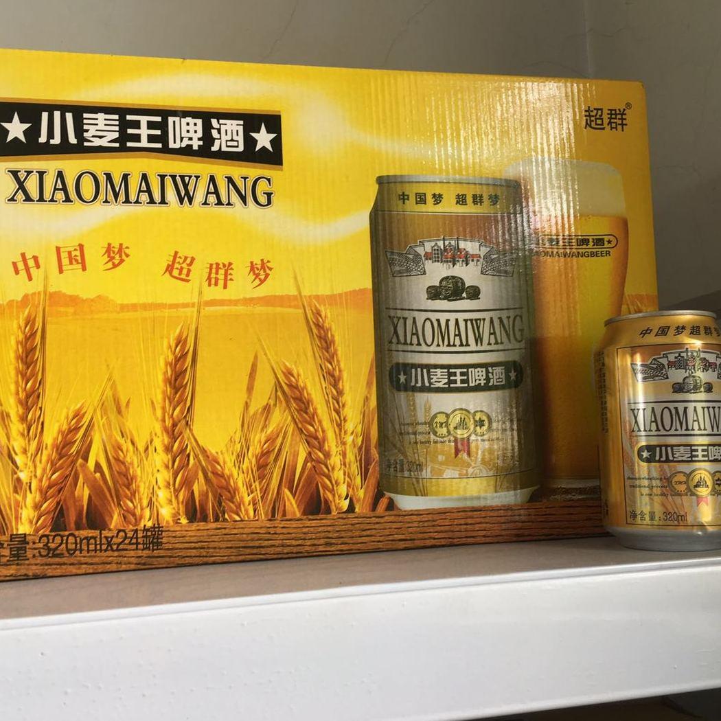 熊力500ml12听小麦王易拉罐啤酒提供