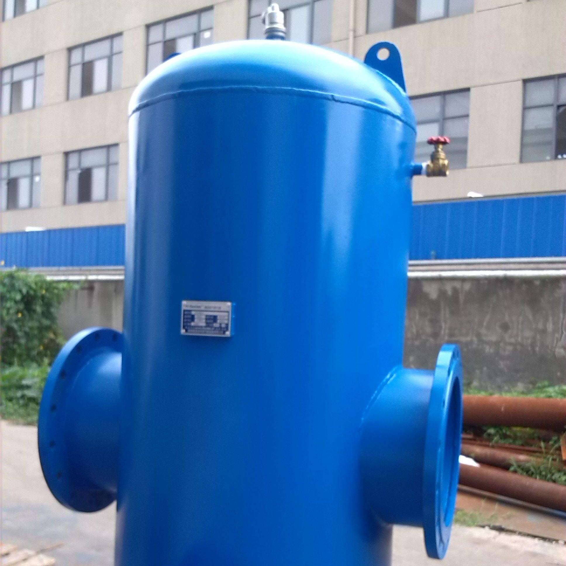 螺旋脱气除污器   厂家直销价格优惠型号齐全包验收