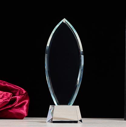 供应 一本水晶奖杯 水晶奖杯批发定制 礼品摆件奖杯奖牌