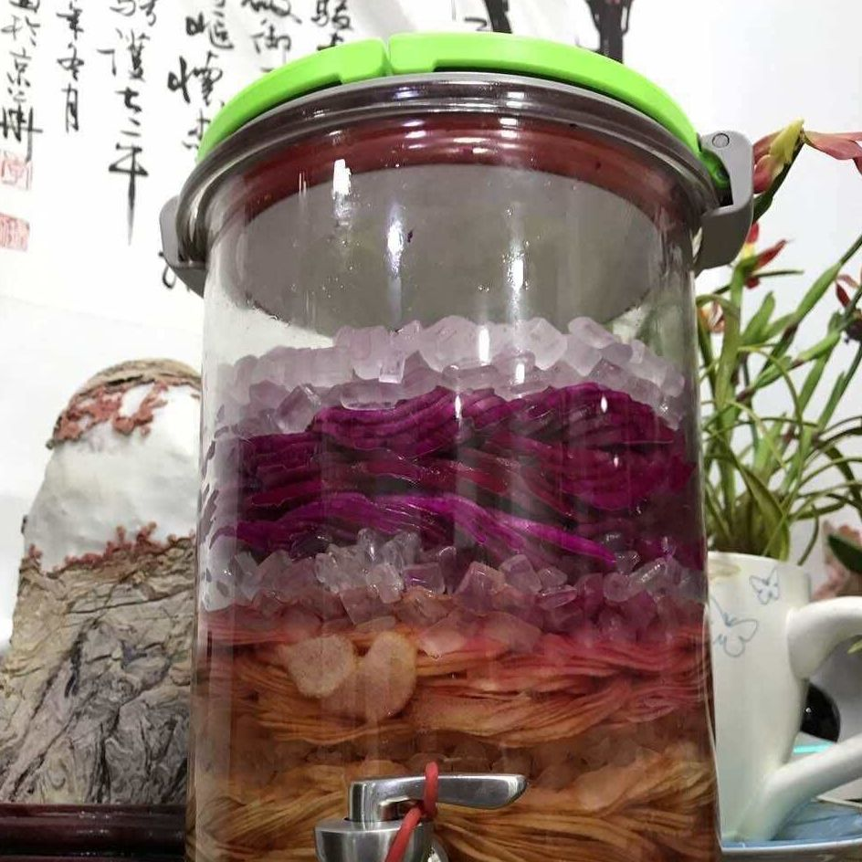 玻璃酵素桶发酵自动排气酿酒泡酒玻璃瓶居元素专业公司